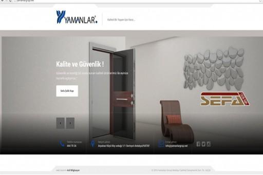 Yamanlar Grup web sitesi yayında!